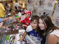 Kael Abraham na autogramiádě před GP České republiky (foto Milan Spurný)