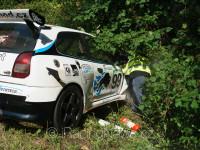 Havárie – STEHLÍK Karel, (#99, KV Motorsport, E2-SH+2000, Mitsubishi Eclipse EVO)