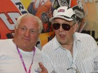 Dvě hvězdy motorsportu Peter Baláž (SK) a Phile Read (GB)