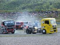 Tlačenice v retardéru FIA Truck Most 2009 by VDR