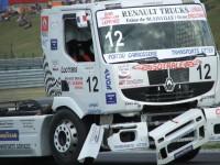 Roztrhaný truck Francouze Janiece