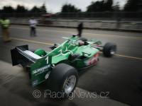 Výjezd Jaguara R5 do boje - #1 Klaas Zwart (NL), Team Ascari, Jaguar R5, F1, Cosworth 3.0 V10