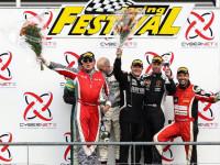 Pódium v sérii Supercar Challenge na belgickém okruhu ve Spa-Francorchamps