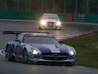 #30 A6, Ram Racing, Mercedes SLS AMG GT3 (6200cc), England (ENG Tom Onslow-Cole, ENG Paul White, GER Thomas Jaeger)
