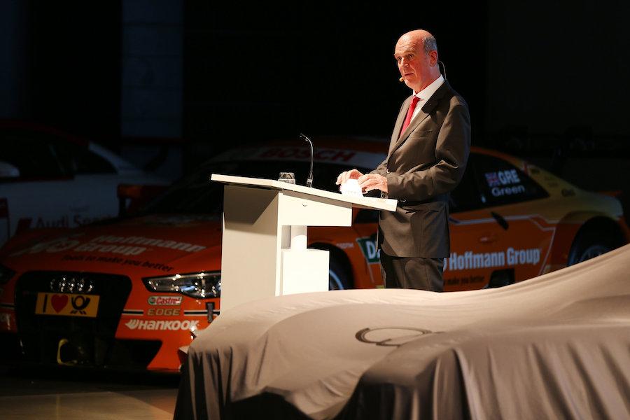 Dr. Wolfgang Ullrich Audi Sport Finale 2015