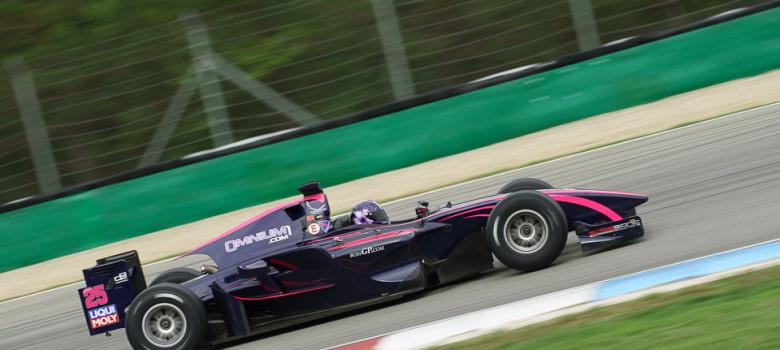 #25 Veronika Cicha (CZ), Top Speed, Dallara, GP2, Mecachrome 4.0 V8