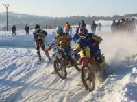 Atraktivní souboje, to je motoskijöring (Horní Město 2015)