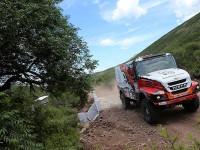 """#503 Aleš Loprais (CZ) s dakarským truckem Iveco – """"Torpédo 69"""""""