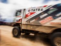 #533 Valtr, Kalina, Stross (CZE/Tatra Phoenix) se stali nejúspěšnějším českým týmem v kategorii kamionů, 8. místo, Rallye Dakar 2016.