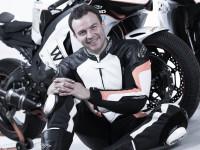 Tomáš Zajíc a jeho Superbike Kawasaki ZX–10R (foto Autodrom Most)