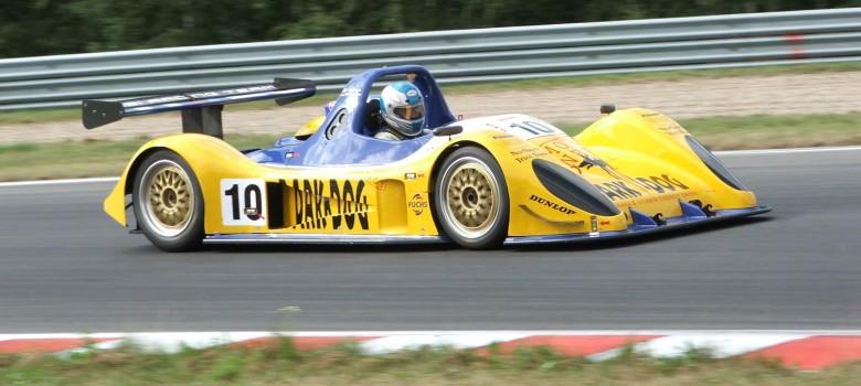 Georg Hallau (D) Pilbeam LMP675 Nissan 3,0 SCC  Most 2009 by VDR