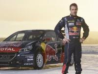 Sébastien Loab se speciálem Peugeot 208 WRX pro FIA World Rallycross Championship 2016