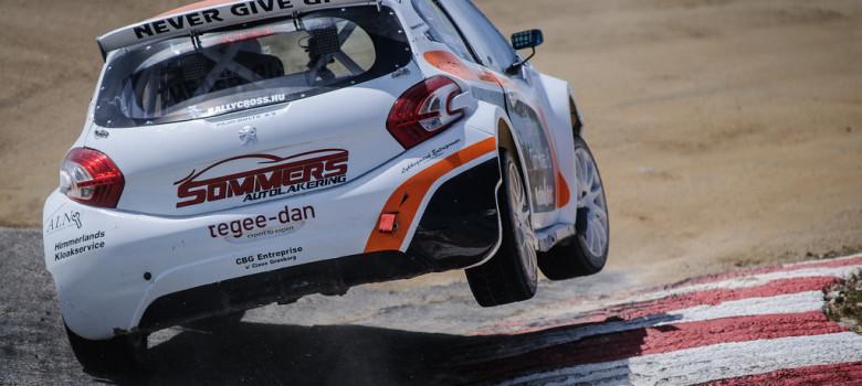 Divoká jízda – to je FIA World Rallycross Championship, Montalegre (PRT), foto Nelson Gonçalves
