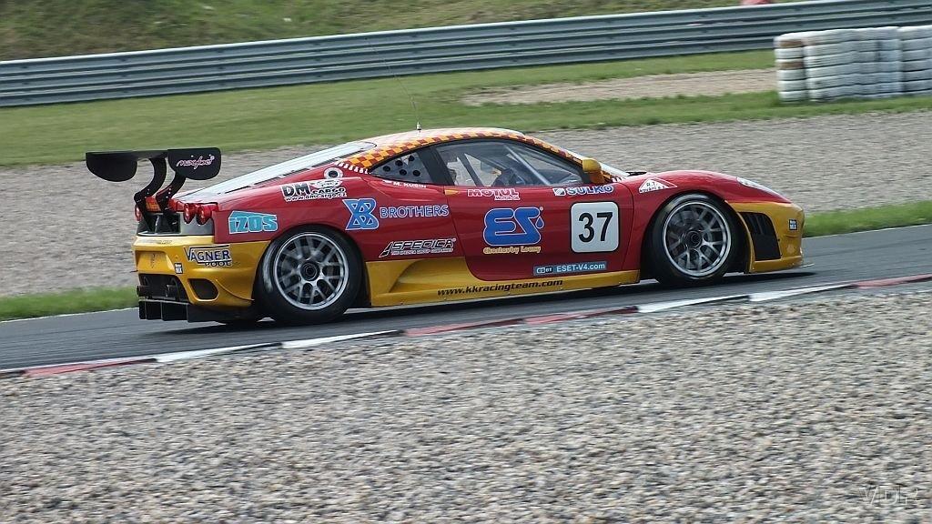 Marcel Kusín - Ferrari 430 GT2 Most - Fia Zone CE, Eset Cup 2015 by VDR
