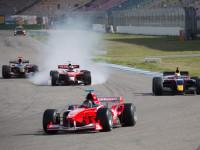 Start Toro Rosso SRT01 z posledního místa v prvním závodu na Hockenheimu © BOSS GP