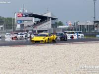 Start Carboniacupu na Slovakiaringu 2016, na čele Dennis Waszek s Ferrari |F430 GT3 by R.Holan