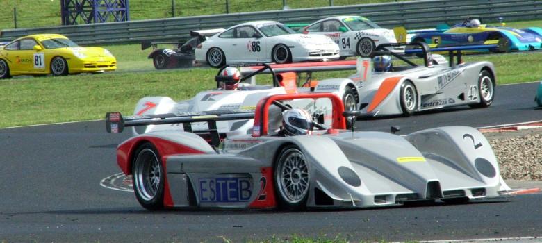 Start SCC 2006 na čele Wolfi Payr (A) PRC BMW 3,2ltr - SCC Most 2006 © VDR