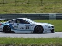Jiří Malchárek (SK) BMW M6 GT3 - FIA Zone CE D4 - autodrom Most 2016