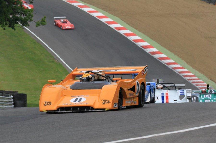 Newall - McLaren CAN AM, Brands Hatch © Master Historic Racing 2016