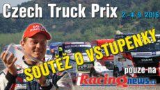 Soutěž o vstupenky na Czech Truck Prix 2016