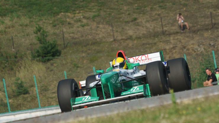 #22 Hans Laub, GER, Speed Center – Castrol, Forti FG03, F1, Judd 4.0 V10