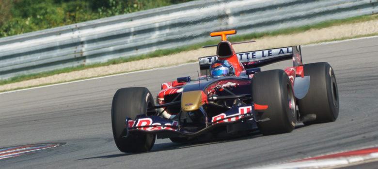 #2 Ingo Gerstl, AUT, Top Speed, Toro Rosso STR1, F1, Cosworth 3.0 V10, OPEN