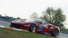 #11 - A6, Scuderia Praha (CZE), CZE Jiří Pisařík, CZE Josef Král, NED Peter Kox, ENG Tom Onslow-Cole, Ferrari 488 GT3 (3900cc)