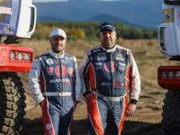 ++Popis fota: Barvy Tatra Buggyra Racing týmu na Rally Dakar 2017 bude vedle Martina Kolomého hájit také Aleš Loprais.
