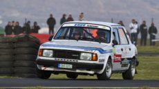 The Most rallye - Břetislav Enge - Škoda 130L foto \AMD Most\