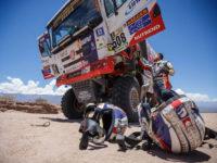 #508 Martin Kolomý (CZE/Tatra Buggyra Racing), oprava ho srazila dolů pořadím, foto Buggyra Media