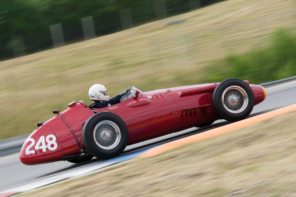 #248 Maserati 250F-CM5, 1957, 2500 ccm, Klaus Lehr (DE)