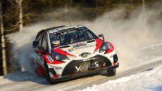 Latvala a Anttila (FIN), TGR WRC, Rally Sweden a Toyota Suomi