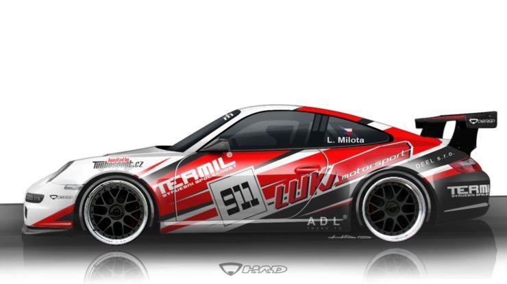 Libor Milota - Porsche 911 GT3 Cup by LUKAMOTORSPORT