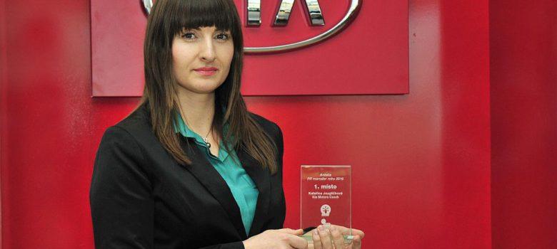 Katka Jouglíčková vítězka PR manager 2016 (foto KMN)