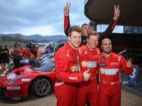 Vítězové Hankook 12H Mugello – Scuderia Praha s Ferrari 488 GT3 (#11 Josef Král / Jiří Písařík / Matteo Malucelli)