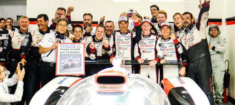 #7 TOYOTA GAZOO RACING / JPN / Toyota TS050 - Hybrid / Mike Conway (BR) / Kamui Kobayashi (JPN) / Stephane Sarrazin (FRA) - Toyota team - Le Mans 24 Hour 2017 (zdroj: fiawec.com)