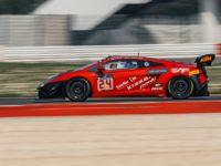 Tomáš Enge a Caitlin Wood (AUS), Lamborghini Gallardo R-EX, Reiter Young Stars, Blancpain GT Series Endurance Cup