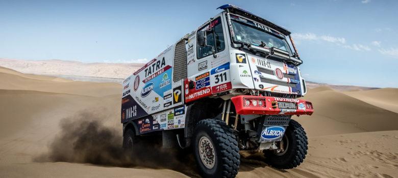 Martin Kolomý na kamionu TATRA Phoenix, Silk Way Rally 2017