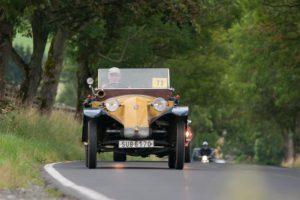 Nejstarším automobilem soutěže byla Tatra 11 z roku 1923