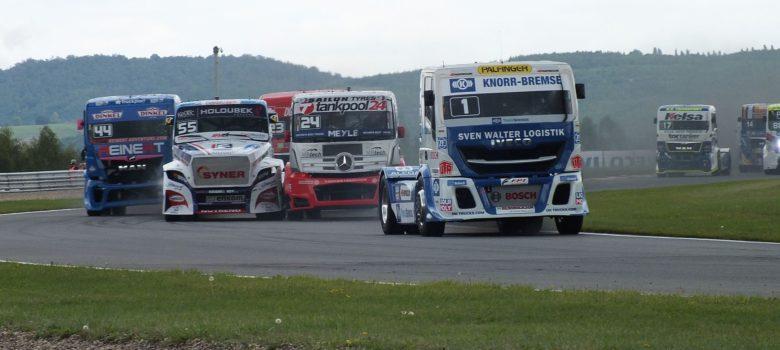 Jochen Hahn (D) Iveco - vyhrál první jízdu, víc už vyhrát nedokázal FIA ETRC autodrom Most 2017 by VDR