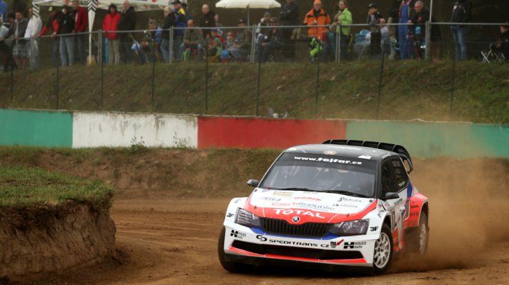 Václav Fejfar při jízdě za čtyřicátým vítězstvím (foto: Tomáš Němec)