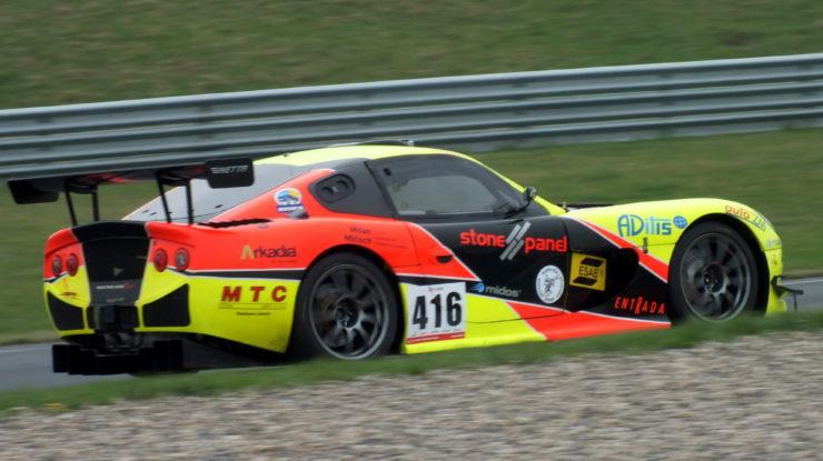 Milan Valášek Ginetta G50 GTR Carboniacup by VDR