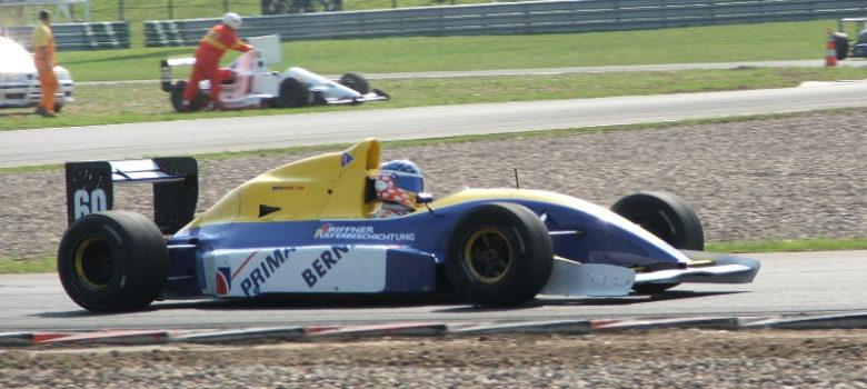 Peter Milavec (A) několikanásobný rekordman autodromu Most - Lola Cosworth Interserie Most 2005 by VDR