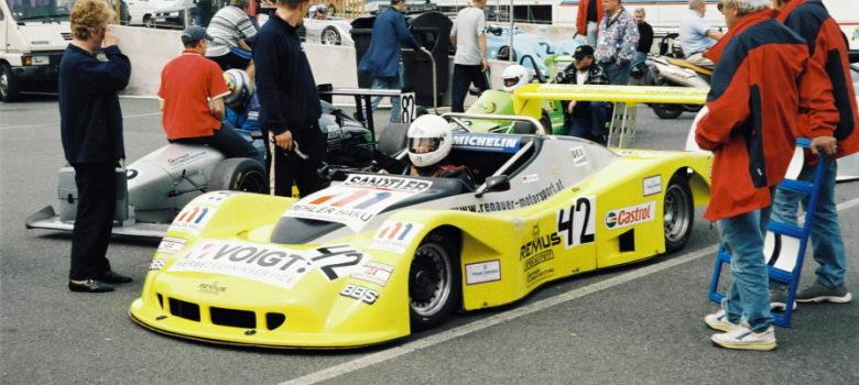 Hans Peter Voight (D) Reynard Ford 2,0 - Interserie Brno by VDR