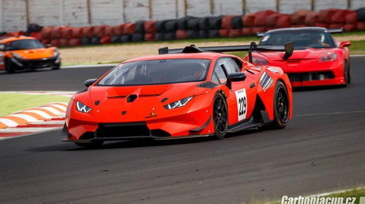 Denis Waszek - Lamborghini EVO Carboniacup Most 2018 by Radoslav Holan