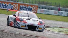 #99 Precote Herberth Motorsport, DEU, Porsche 911 GT3 R, Robert Renauer(DEU), Mathieu Jaminet (FRA) Most 2018 (foto: Milan Spurný)