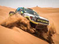 Boris Vaculík s navigátorem Martinem Plechatým z týmu BARTH Racing na Marocco Desert Challenge