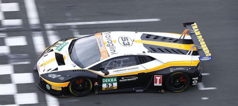 Team Rosberg nasadí dva vozy Lamborghini Huracan GT3 do ADAC GT Master 2018 (foto: ADAC GT Masters)