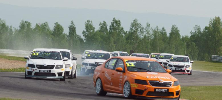Dvojnásobný vítěz z Mostu #11 Tomáš PEKAŘ, CZE, Škoda Octavia RS III Cup, CARPECK SERVICE, CZE (foto: Milan Spurný)