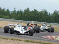#6 PADMORE Nick, GB, Williams FW07C, Head, White/Green, 1981, 3000 ccm (foto: Milan Spurný)